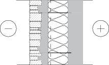LM104 Lohkopintaisella liuskekivellä verhoiltu sw-elementti ilman laastisaumaa