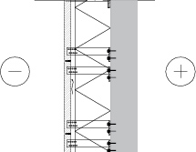 LM110 Liuskekivilaattaverhoilu mekaanisilla kiinnikkeillä