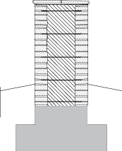 LM301 Muurattu liuskekiviaita