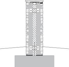 LM303 Liuskekiviaitaelementti