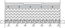 LM601 Liuskekivi, vapaamuotoinen sisälattia, kivi 1-3cm