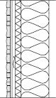 LM705 Verhoilukivi, liuskekivi, sauna, sementtikuitulevy
