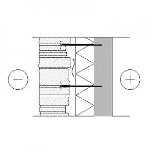 LM103-2 Luonnonkivimuuraus, leveä kivi, tuulettuva